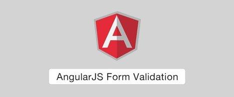 AngularJS Form Validation   angularjs   Scoop.it