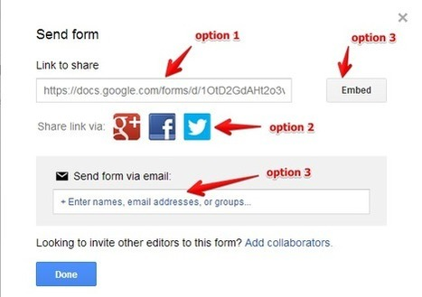 8 Steps to Create Engaging Google Forms ( for Teachers ) ~ Educational Technology and Mobile Learning | Technology News | Scoop.it