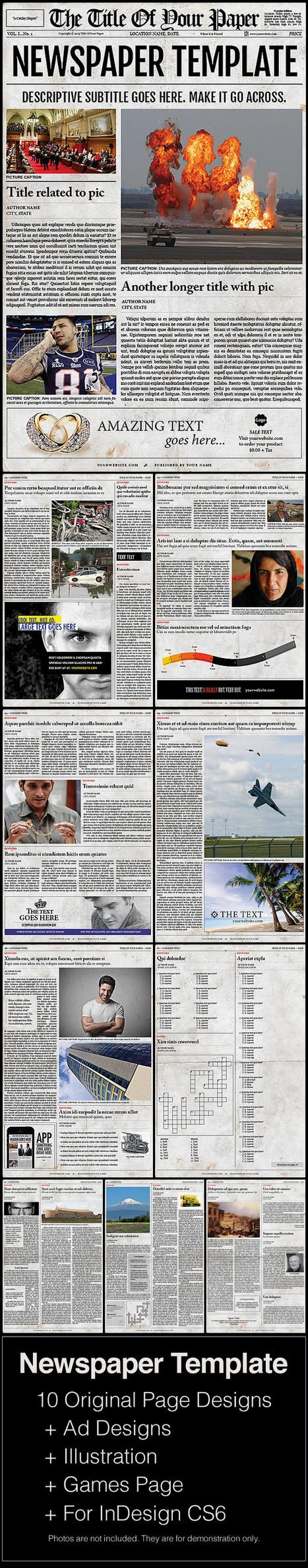 Newspaper Template | Scoop.it
