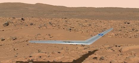 DRONE: La NASA dévoile son projet d'envoyer un aéronef qui pourrait planer au-dessus de Mars | Veille de l'industrie aéronautique et spatiale - Salon du Bourget | Scoop.it