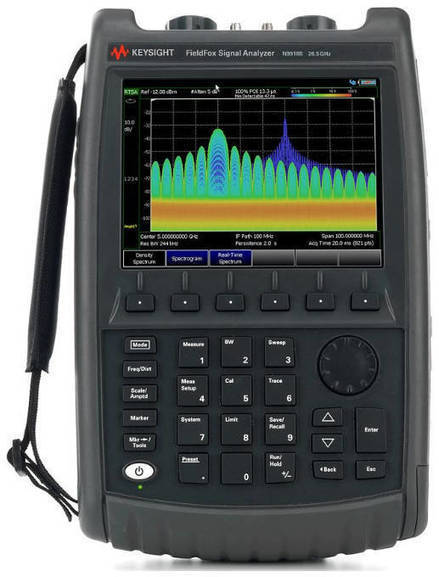 Keysight boosts handheld analyser capability