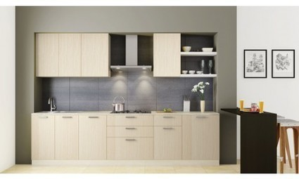 Small Straight Kitchen Design. Straight Indian style modular kitchen design for small Kitchen cabinets  interiors