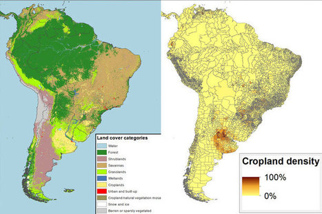 Charting the agricultural land of South America   CCAFS: CGIAR research program on Climate Change, Agriculture and Food Security   Gaia Ways   Scoop.it