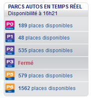 La disponibilité des parkings consultable sur internet   Aéroport Toulouse-Blagnac   Toulouse La Ville Rose   Scoop.it