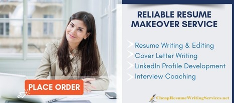Reliable Resume Review Service Cheap Resume W