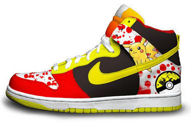 super popular c6862 49c1c Pikachu Nike SB Dunk Red Black Yellow  pokemon-shoes-1006  -  83.00   DC  Comic Dunks ,Marvel Comic Dunks, Superhero Nike Dunks Shoes ,Superman  ,Batman ...