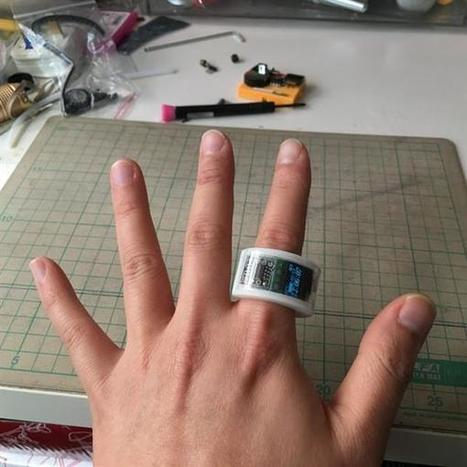 Ring it up: 3D print your own ATtiny 85 ring watch | Raspberry Pi | Scoop.it