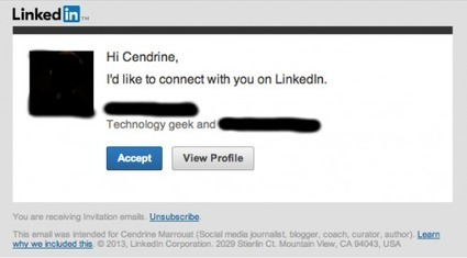 Stop sending generic invitation requests on LinkedIn! | Creative Ramblings | e-commerce & social media | Scoop.it