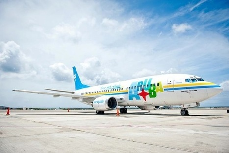 Airline Livery of the Week- Tiara Air's Colorful Aruba Boeing 737 | Allplane: Airlines Strategy & Marketing | Scoop.it