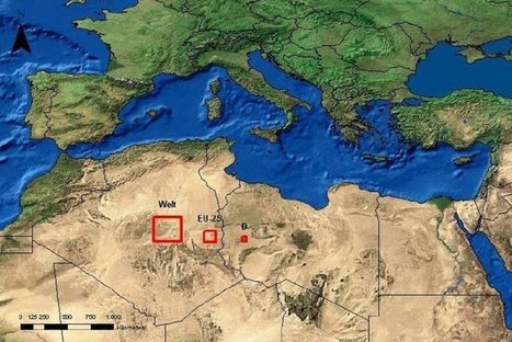 This Area Would Be Enough to Power the Whole World with Solar Energy | Oil and Gas | Scoop.it