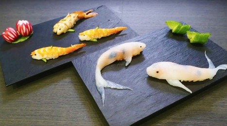 #Sushi That Looks Like #Real-Life Swimming #Koi #Japan | What makes Japan unique | Scoop.it