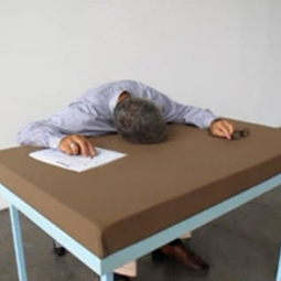This pillow-topped desk makes napping at work a priority   It's Show Prep for Radio   Scoop.it