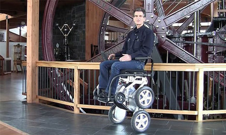 Sedie A Rotelle Per Scale : Sedia a rotelle per disabili innovativa toyota