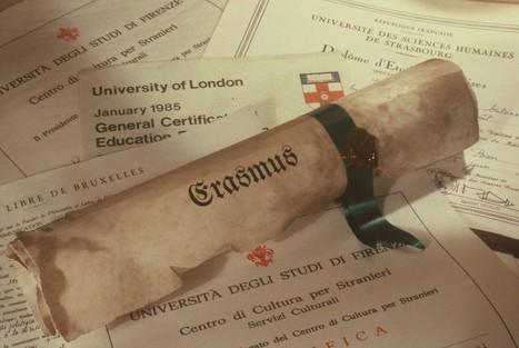 Erasmus ou l'histoire d'un succès européen   osez la médiation   Scoop.it