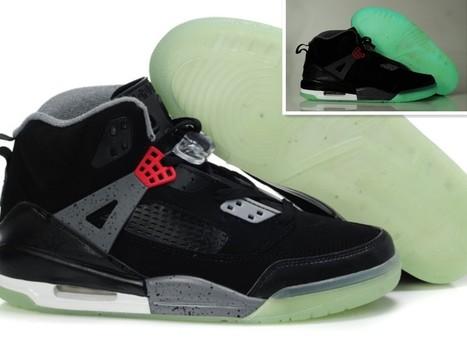 bb173d9f2fc5 Glow In The Dark Nike Air Jordan 3.5 Black Grey -Nike Glow In The Dark Shoes
