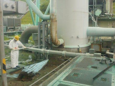 [Photos] La réparation de la fuite (?) entre les unités 1 et 2  - Tepco - août 2011 | Facebook | Japon : séisme, tsunami & conséquences | Scoop.it