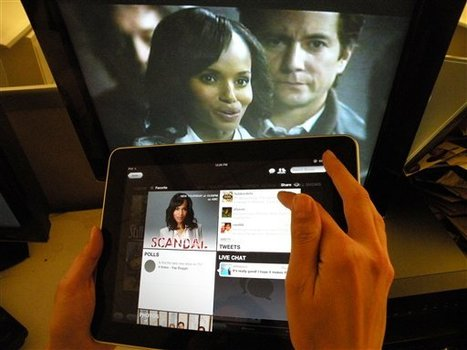 Mobile Apps Are Challenging TV In A Way The Web Never Did | active content | Scoop.it