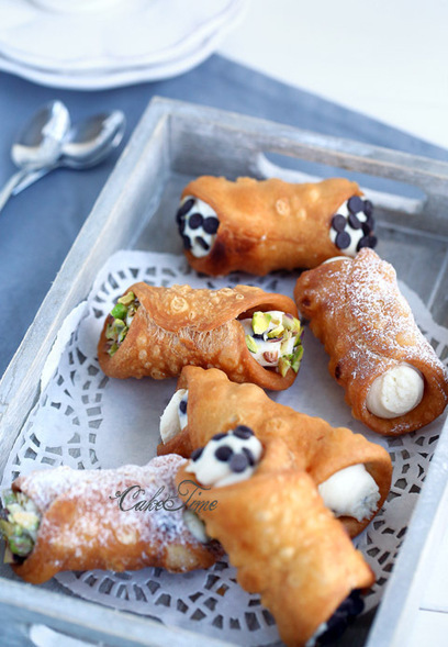#Dessert / Cannoli siciliani | Geek Topics | Scoop.it