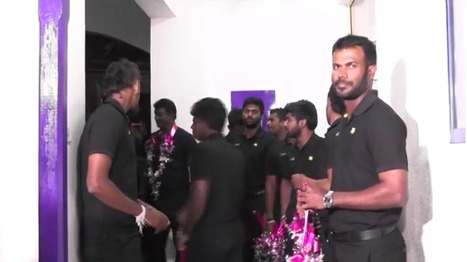 (Video) Sri Lankan cricket team's arrival and press conference after tour of Zimbabwe | Sri Lanka Cricket | Scoop.it