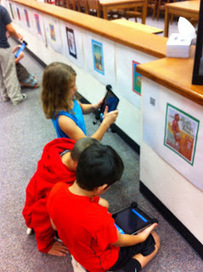 Moving at the Speed of Creativity - Student-Created Sequoyah Book Reports, AudioBoo, iPads and QR Codes | iPads at ct | Scoop.it