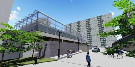 Une première serre urbaine commerciale verra bientôt le jour en plein cœur de Paris | Agriculture urbaine et rooftop | Scoop.it