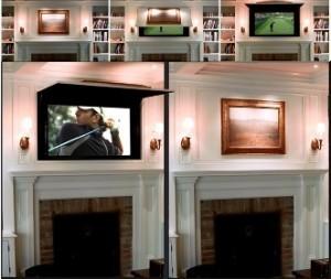 De l'Art Pour Cacher la TV [Astucieux] | Les tendances déco-design de Moodds | Scoop.it