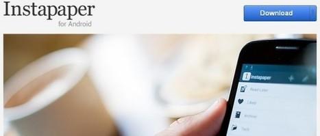 Ya disponible Instapaper para Android   VIM   Scoop.it