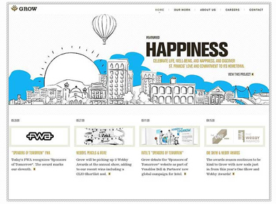 From Grunge To Corporate 50 Beautiful Website Designs Inspire | Design Revolution | Scoop.it