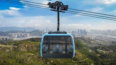 Poma va ouvrir une télécabine de 4,5 km de long en Chine