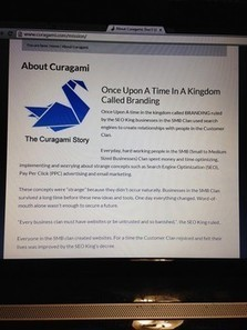 The Curagami Story: Content Curation for Fun and Profit via @examinercom | Startup Revolution | Scoop.it