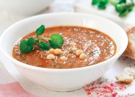 Watercress and Spiced Tomato Soup Recipe : Cook Vegetarian Magazine | The Butter | Scoop.it