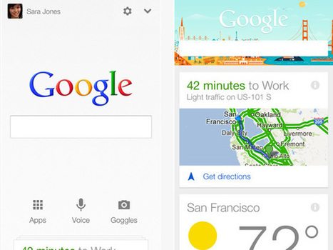 Google's Next-Generation Search App Is Now Available For iPhones And iPads | New Media Technology | Scoop.it