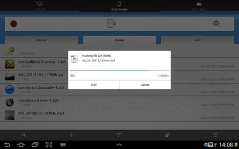 Transfiere archivos de cualquier tipo entre PC, smartphone, tablet y nube | Web-On! Comunicación digital | Scoop.it