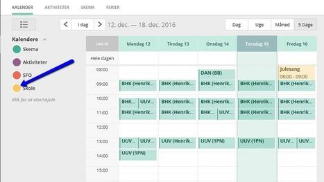 Hvorfor ser forældre alle skoleaktiviteter i kalenderen | web2.0+ for lærere | Scoop.it