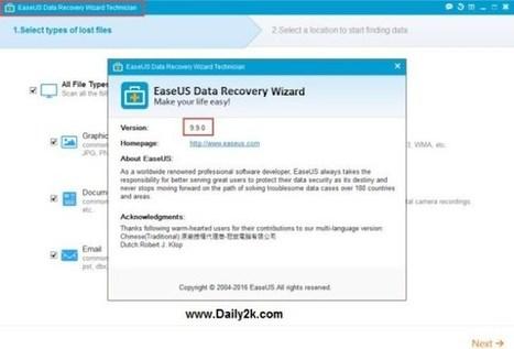 Easeus data recovery 12 crack