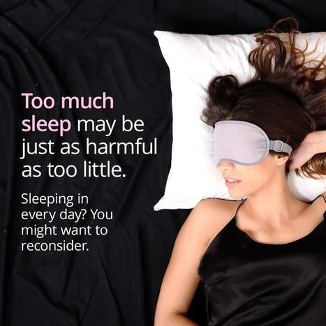 Sleeping In Can Be Too Much Of A Good Thing | FOOD? HEALTH? DISEASE? NATURAL CURES??? | Scoop.it