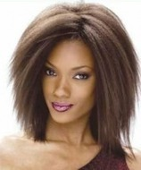 Straight Afro Hairstyles with Classy Attractiveness   Hair Summary   Hairstyle   Scoop.it