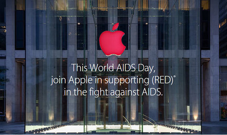 Apple aids AIDS fight | Tech Buzz | Scoop.it
