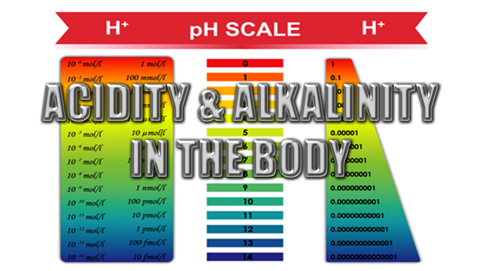 Acidity And Alkalinity In The Body   Detox Your