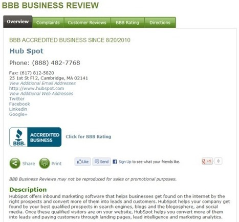 12 Places Businesses Should Be Collecting Online Reviews   Google Places (Google + Local)   Scoop.it