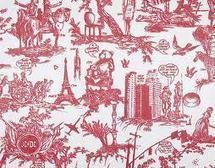 Toile De Jouy In Tissu D Ameublement Art Textile Et Papier Peint