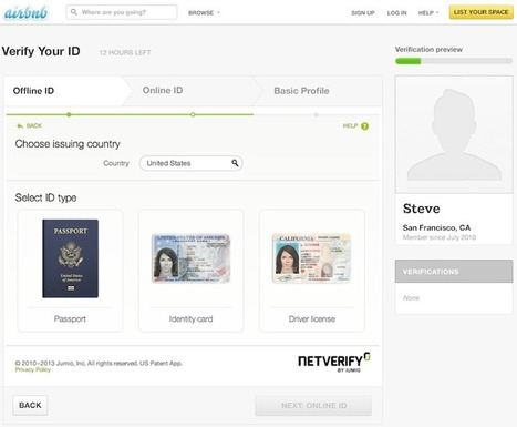Airbnb Adds Identity Verification To End Anonymity In Sharing Economy | Consumer2Consumer | Scoop.it