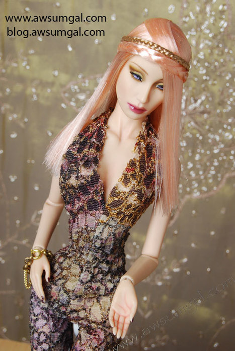 "Just Finished ~Sublime!~ Hard Cap Wig for Sybarite Dolls - Awsumgal | 16""Fashion dolls 