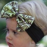 Baby Accessories - Headbands with Designer Bows - Pink Baby Boutique | Babies Shower Gifts | Scoop.it