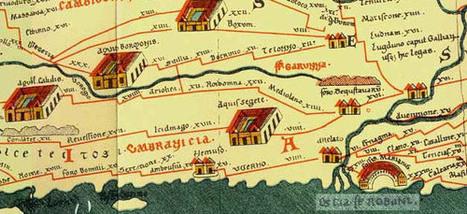 Peutingeriana Tabula Itineraria - LoireGenWeb | GenealoNet | Scoop.it