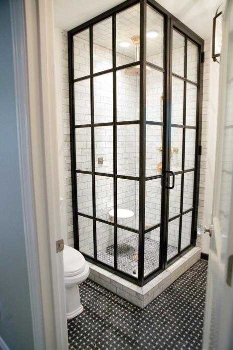 Squeaky Chic: 10 Contemporary Shower Doors | Designing Interiors | Scoop.it