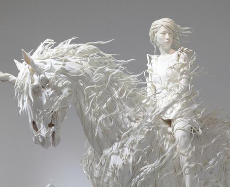 ART >>> Sculptures par Motohiko Odani | Journal du Design | Love love love | Scoop.it