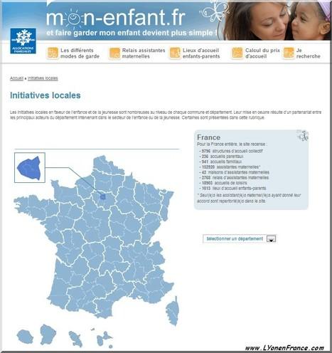 """LYon-Actualités.fr: Familles : la CAF lance le site internet """"Mon-enfant.fr""""   LYFtv - Lyon   Scoop.it"""