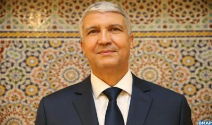 MAROC : Ministère de l'Agriculture: Passation des pouvoirs entre MM. Akhannouch et Sadiki.