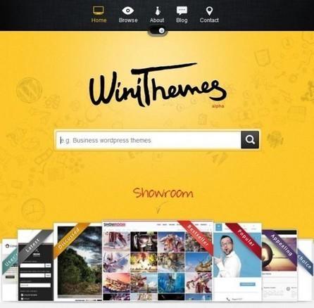 Banque de thèmes WordPress and co, WiniThemes | Agence Web Newnet | Actus CMS (Wordpress,Magento,...) | Scoop.it